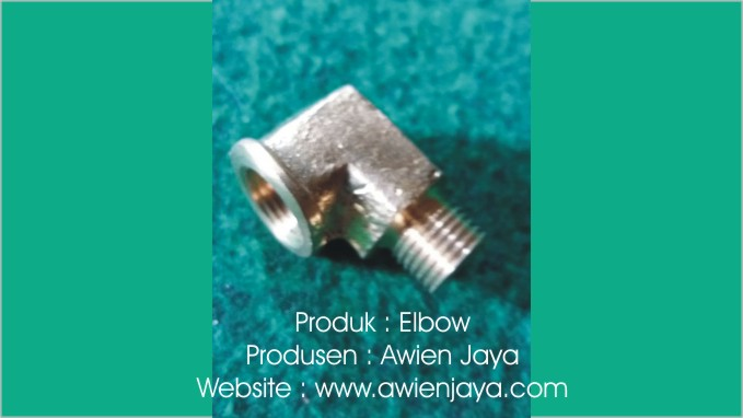 Elbow kuningan cor logam